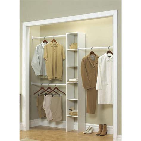 Closetmaid Selectives by Selectives 12 In White Custom Closet Organizer