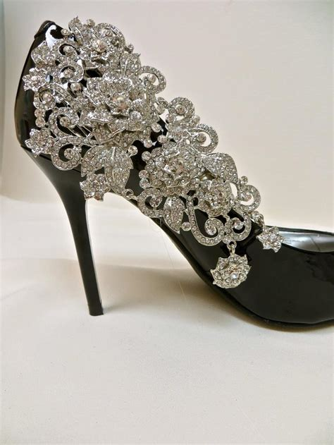 Rhinestone Wedding Shoes rhinestone wedding shoes cake ideas and designs
