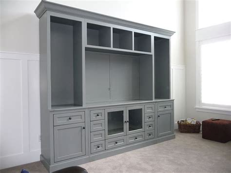 cabinet shelving gray painted media console cabinet homeinnovationsok com likes entertainment center ak