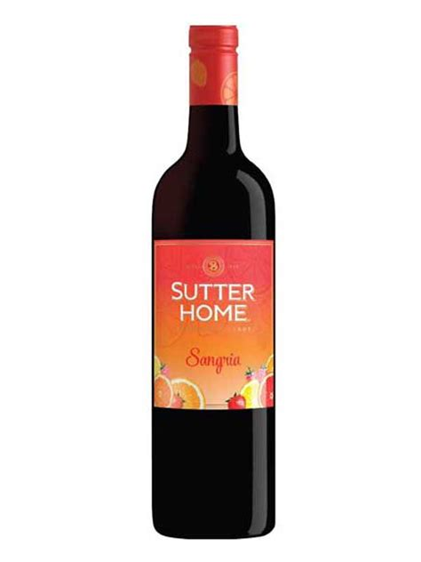 sutter home family vineyards sutter home sangria 750ml