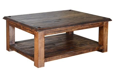 Coffee Table Square Pine Wood rustic coffee table rustic pine coffee table pine wood