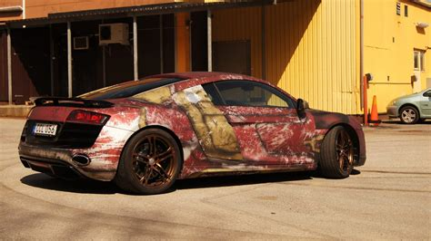 Iron Man R8 Wrap Design Skepple Inc