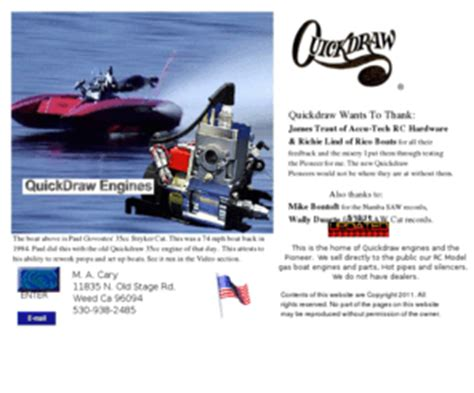 rc boats engines quickdraw 35cc quickdrawengines quickdraw engines home page model