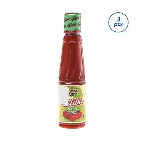 Saus Sambal Red1 135 Ml jual dua belibis saus tomat 135 ml 3 pcs harga