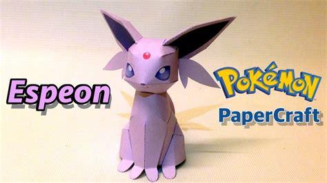 Espeon Papercraft - espeon papercraft