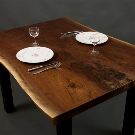 Black Walnut Kitchen Table Crafted Live Edge Black Walnut Dining Kitchen Table By Elpis Wood Custommade