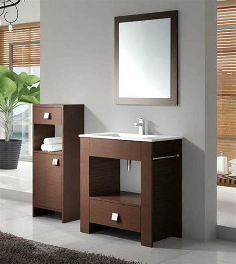 badezimmer ideen mit holz waschtisch aus holz f 252 r mehr gem 252 tlichkeit im bad