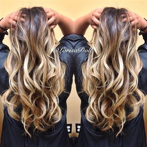 balayage ombre hair dark to light no filter dark warm brown base ombre d to light beige