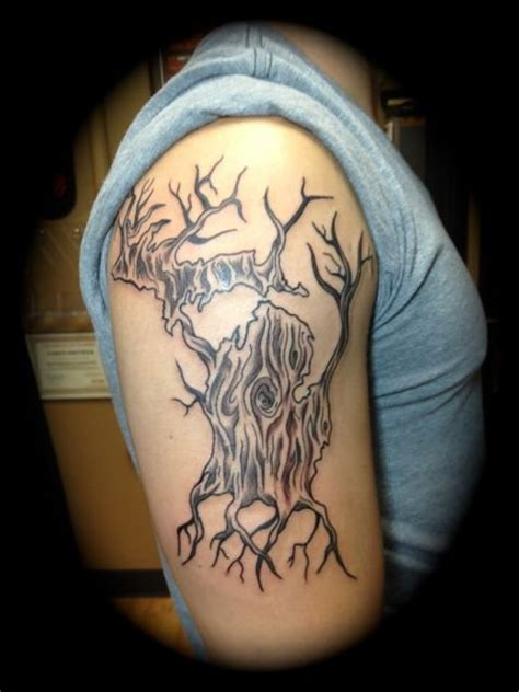 michigan tattoo shops tree tattoos by aaron