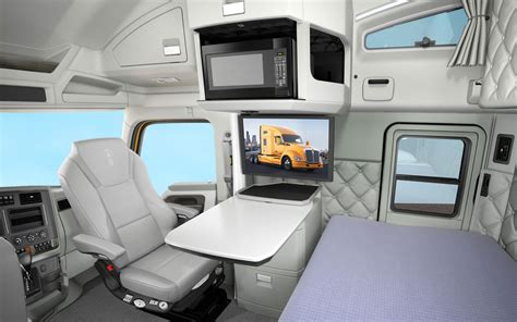 Inside Of Sleeper Trucks by Kenworth Introduces New High Efficiency T680 Heavy Duty