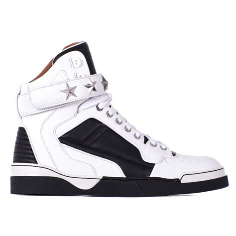 white sneakers for givenchy tyson leather sneakers in white for black