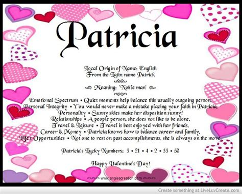 born up meaning meaning of names patricia angies creations pinterest