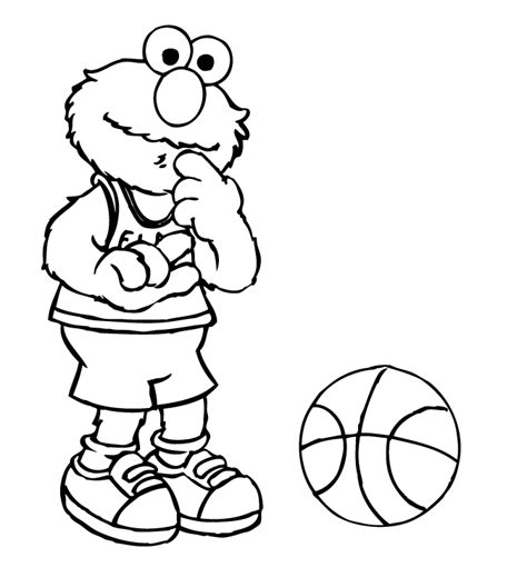 elmo christmas coloring coloring pages