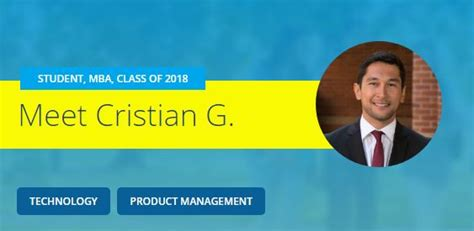Ucla Mba Student Profile by Student Spotlight Cristian Gonzalez 18 From Engineer