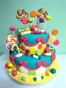 southern blue celebrations candy sweet shop theme cakes