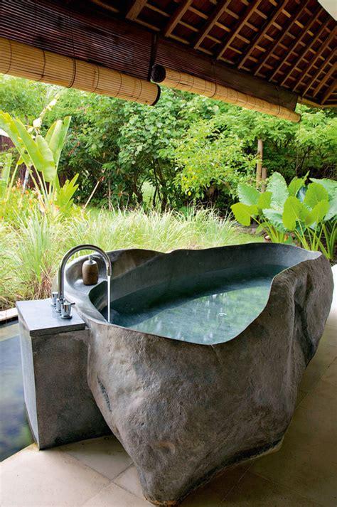 Outdoor Badezimmer by Inspiring Bathrooms With Original Interiors Home Design