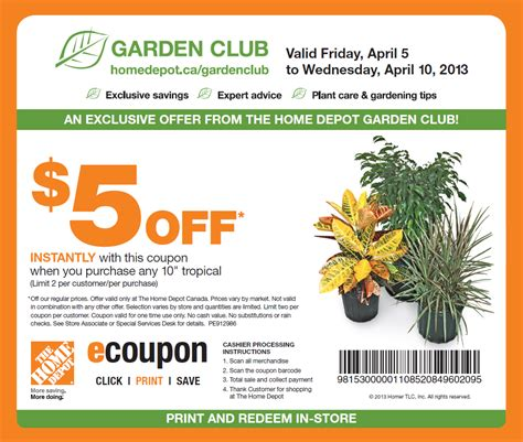 home depot printable coupon january 2017 2017 2018