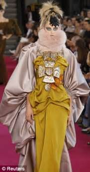 After Can Givenchy Lacroix And Chanel Measure Up by Lacroix S Fantastical Creatures Run At Couture