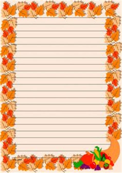 thanksgiving lined writing paper turkey lined writing paper thanksgiving printables