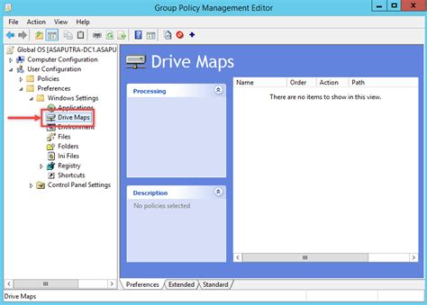 gpo mapped drives how to map network drive using policy