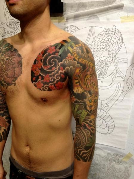 japanese shoulder tattoos 69 designer japanese shoulder tattoos