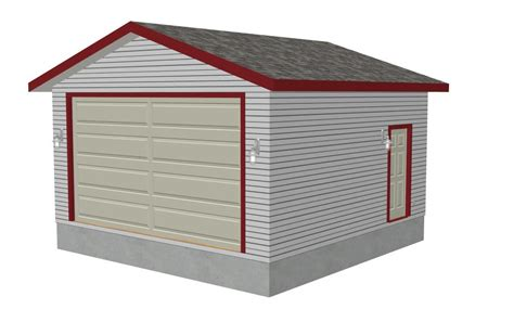 20 X 20 Garage by G340 20 X20 10 Garage Rv Garage Plans