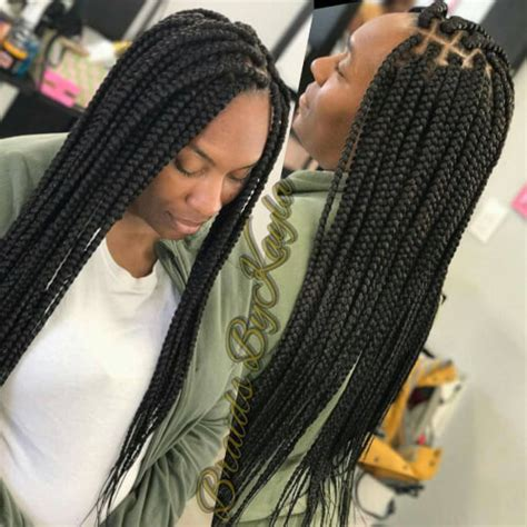 older people with box braids box braids trendy stylish low maintenance hairstyles