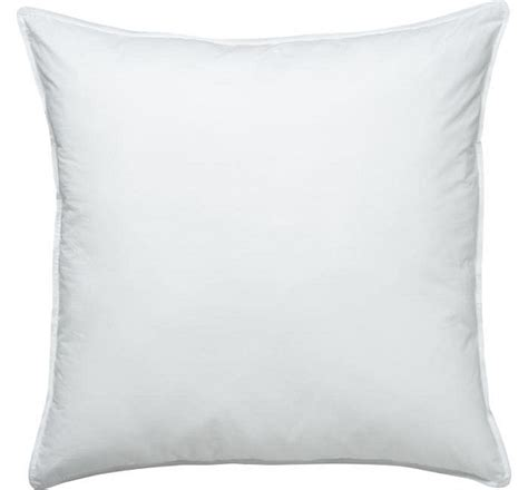 What Size Is A European Pillow by Alternative Pillow Set Of 4