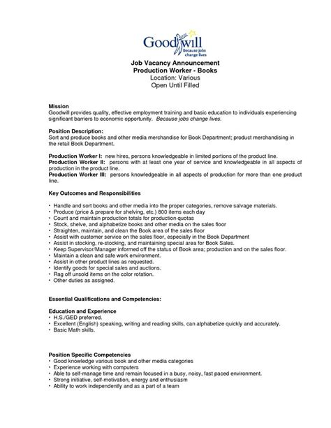 writing sle for resume 28 images work statement exles