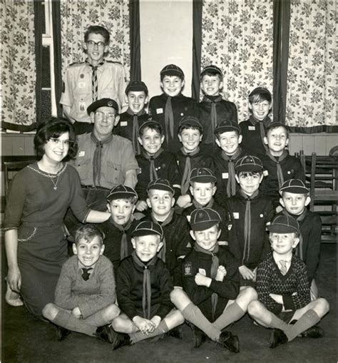 cub scouts 1970 1950s 1960s 1st st andrew s porthill scout group s