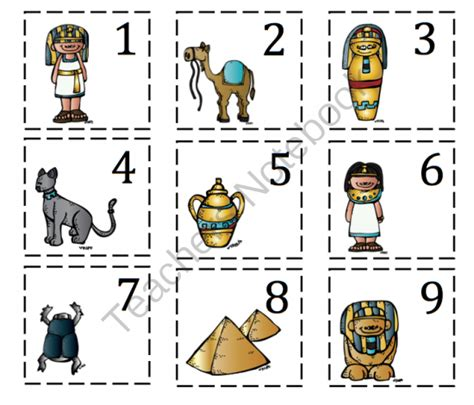 printable egyptian numbers september 2013 preschool printables