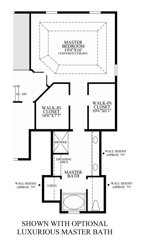 luxury master bathroom floor plans high pointe at st georges carolina collection the