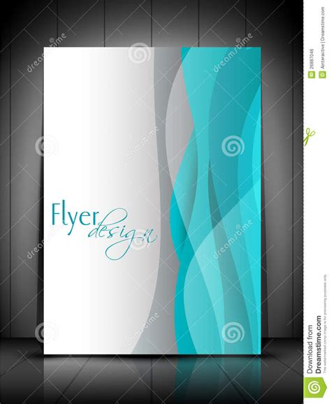 free professional flyer templates professional business flyer template royalty free stock