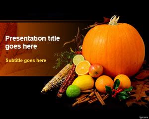 Thanksgiving Day Powerpoint Template Thanksgiving Powerpoint Templates Microsoft