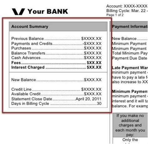 Sle Credit Card Billing Statement Monthly Credit Card Statement Walkthrough