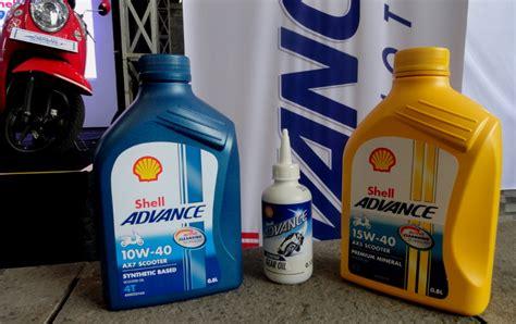 Pelumas Shell Untuk Motor Tiga Pelumas Baru Shell Untuk Motor Skutik Autos Id