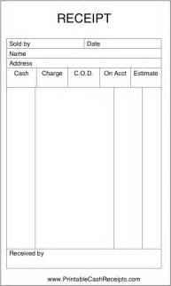 Simple dress template printable blank sales receipts printable