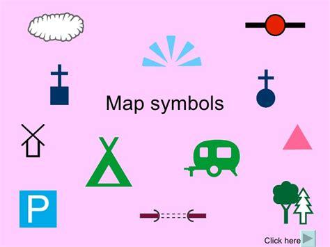 map symbols map symbols