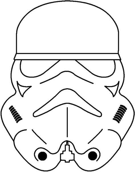 yoda mask coloring page masks of mikids of war colouring pages