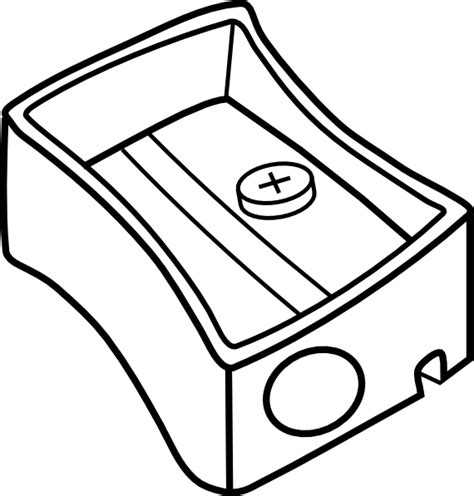 Pensil Kartun Dengan Penghapus Rubber Sets Of Pencil Spe029 pencil sharpener outline clip at clker vector clip royalty free