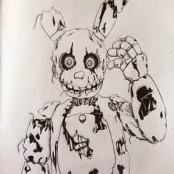 no color fnaf coloring pages mangle alltoys for