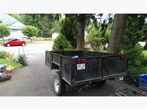 Or Trailer 2012 For Sale Or Rent 2012 6x8 All Steel Utility Trailer Solid Light Saanich