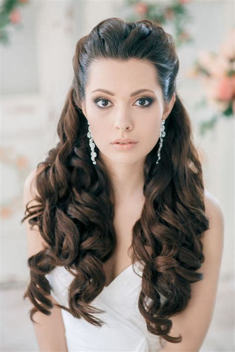 Wedding Hairstyles Half Up Tutorials by 15 Stunning Half Up Half Wedding Hairstyles With