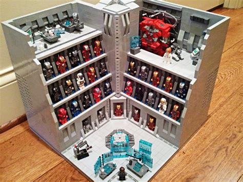 impressive lego iron man hall armor favbulous
