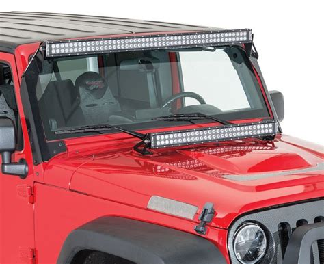 led light bars for jeep wrangler 2007 2016 jeep wrangler jk lighting lenses and bulbs