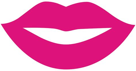 file lips silhouette svg wikimedia commons