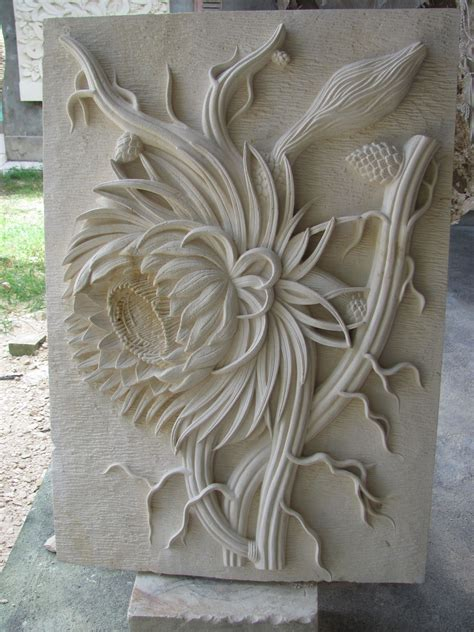 metal sculpture lotus pond hotel decoration home decor flower wall sculpture china marble lotus pin sculptures