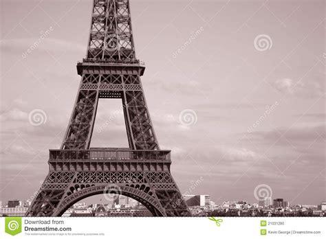 Imagenes De La Torre Eiffel En Blanco Y Negro | torre eiffel en blanco y negro foto de archivo imagen