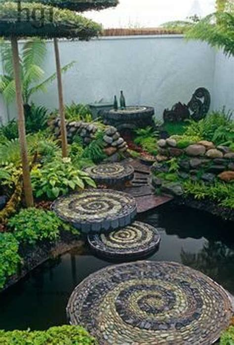 Garden Decor With Stones Impressive Decor For Your Garden That You To See