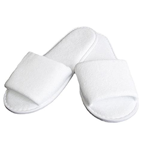 spa slippers india slipper white bath slipper made from toweling fabric with